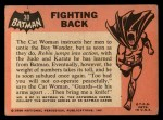 1966 Topps Batman Black Bat #30   Fighting Back Back Thumbnail