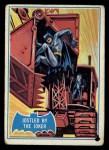 1966 Topps Batman Blue Bat Back #30   Jostled by the Joker Front Thumbnail