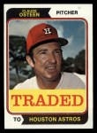 1974 Topps Traded #42 T  -  Claude Osteen Traded Front Thumbnail