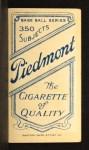 1909 T206  Chappie Charles  Back Thumbnail