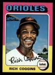 1975 Topps Mini #167  Rich Coggins  Front Thumbnail