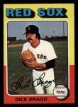 1975 Topps Mini #333  Dick Drago  Front Thumbnail