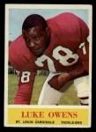 1964 Philadelphia #177  Luke Owens   Front Thumbnail