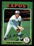 1975 Topps Mini #568  Dale Murray  Front Thumbnail