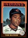 1975 Topps Mini #482  Tom McCraw  Front Thumbnail