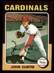1975 Topps Mini #381  John Curtis  Front Thumbnail