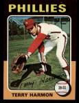 1975 Topps Mini #399  Terry Harmon  Front Thumbnail