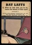 1966 Topps Batman Color #47   Penguin / Joker / Bruce Wayne Back Thumbnail