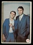 1966 Topps Batman Color #16   Bruce Wayne & Dick Grayson Front Thumbnail