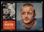 1962 Topps #55  Jim Martin  Front Thumbnail