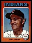 1975 Topps Mini #263  Jim Perry  Front Thumbnail