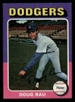 1975 Topps Mini #269  Doug Rau  Front Thumbnail