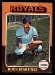 1975 Topps Mini #314  Buck Martinez  Front Thumbnail