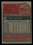 1975 Topps Mini #175  Don Money  Back Thumbnail