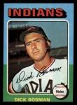 1975 Topps Mini #354  Dick Bosman  Front Thumbnail