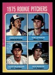 1975 Topps Mini #618   -  Jamie Easterly / Tom Johnson / Scott McGregor / Rick Rhoden Rookie Pitchers Front Thumbnail