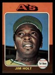1975 Topps Mini #607  Jim Holt  Front Thumbnail