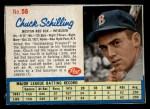 1962 Post #56  Chuck Schilling   Front Thumbnail
