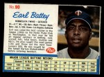 1962 Post #90  Earl Battey   Front Thumbnail