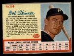1962 Post #174  Bob Skinner  Front Thumbnail