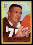 1967 Philadelphia #45  Dick Schafrath  Front Thumbnail