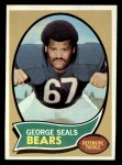 1970 Topps #12  George Seals  Front Thumbnail