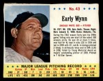 1963 Jello #43  Early Wynn  Front Thumbnail