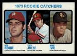 1973 Topps #613   -  Bob Boone / Mike Ivie / Skip Jutze Rookie Catchers Front Thumbnail