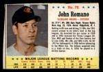 1963 Post #76  John Romano  Front Thumbnail