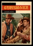 1958 Topps TV Westerns #8   Danger Ahead  Front Thumbnail