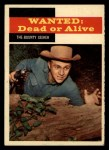 1958 Topps TV Westerns #23   The Bounty Seeker  Front Thumbnail