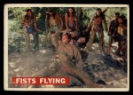 1956 Topps Davy Crockett #31   Fists Flying  Front Thumbnail