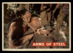 1956 Topps Davy Crockett #30   -    Arms of Steel  Front Thumbnail