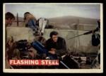 1956 Topps Davy Crockett #74   Flashing Steel  Front Thumbnail