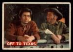 1956 Topps Davy Crockett #46   Off To Texas  Front Thumbnail
