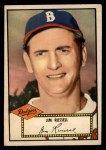 1952 Topps #51  Jim Russell  Front Thumbnail