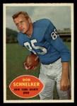 1960 Topps #76  Bob Schnelker  Front Thumbnail