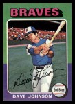 1975 Topps Mini #57  Davey Johnson  Front Thumbnail