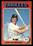 1975 Topps Mini #68  Ron Blomberg  Front Thumbnail