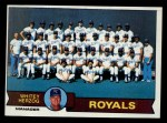 1979 Topps #451   -  Whitey Herzog  Royals Team Checklist Front Thumbnail