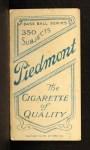 1909 T206  Larry McLean  Back Thumbnail