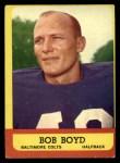 1963 Topps #11  Bob Boyd  Front Thumbnail
