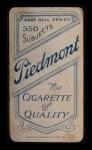1909 T206 POR Harry Howell  Back Thumbnail
