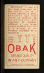 1911 T212 Obak RED Murray  Back Thumbnail