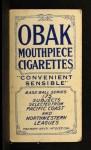 1910 T212 Obak 175 Ralph Willis  Back Thumbnail