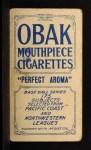 1910 T212 Obak 175 Harold McArdle  Back Thumbnail