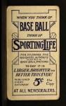 1910 M116 Sporting Life BLU Red Dooin   Back Thumbnail