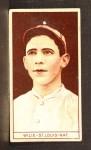 1912 T207  Dewey Wilie  Front Thumbnail