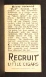 1912 T207  Hank Severeid    Back Thumbnail