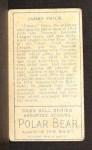 1911 T205  Jimmy Frick  Back Thumbnail